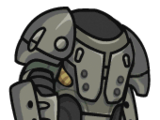 X-01 Mk VI power armor