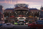 FM Chryslus Dealership Dusk