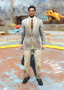 Fo4Dirty Striped Suit male