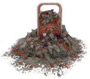 Fo4NW owerflowing trashcan