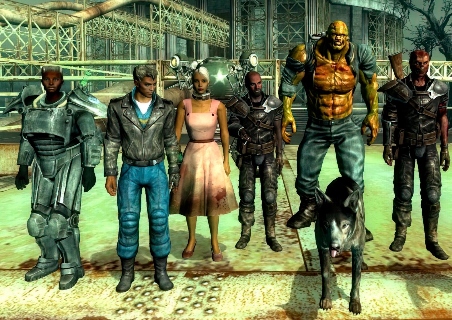 Fallout 3 Easy Companions