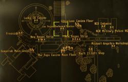 LVB station map