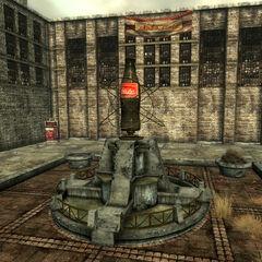 The Nuka-Cola courtyard