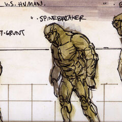 Scale of super mutants