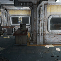 Combat simulation observation room