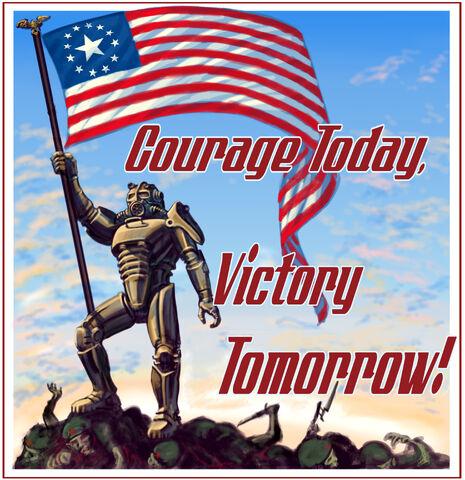 Fallout Enclave Minimalist Poster 465?cb=20120227234837