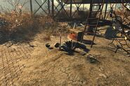 FO4NW Skeleton with a screwdriver