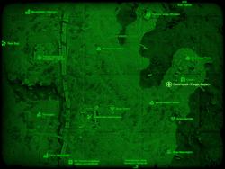 FO4 Санаторий «Сэнди-Коувс» (карта мира)