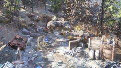 FO76 Ammo dump