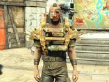 Gage's armor