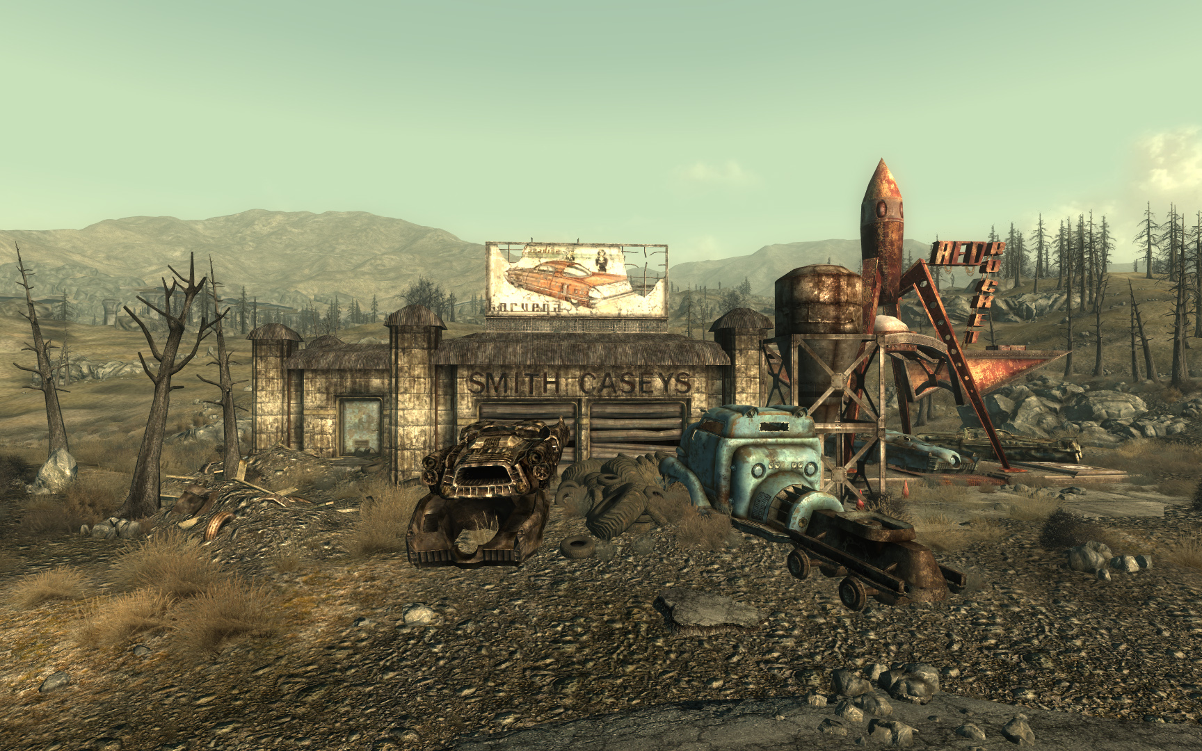 how to find the cathedral in fallout 1