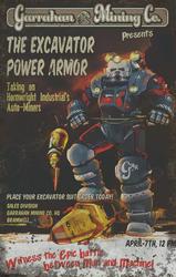 F76 Man Vs Machine Poster