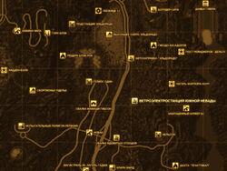 FNV Карта ВЕТРОЭЛЕКТРОСТАНЦИЯ ЮЖНОЙ НЕВАДЫ