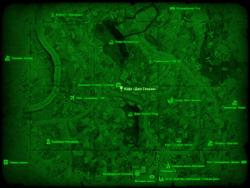 FO4 Кафе «Джо Слокам» (Галлериа) (карта мира)