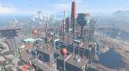 FO4 Corvega assembly plant from above