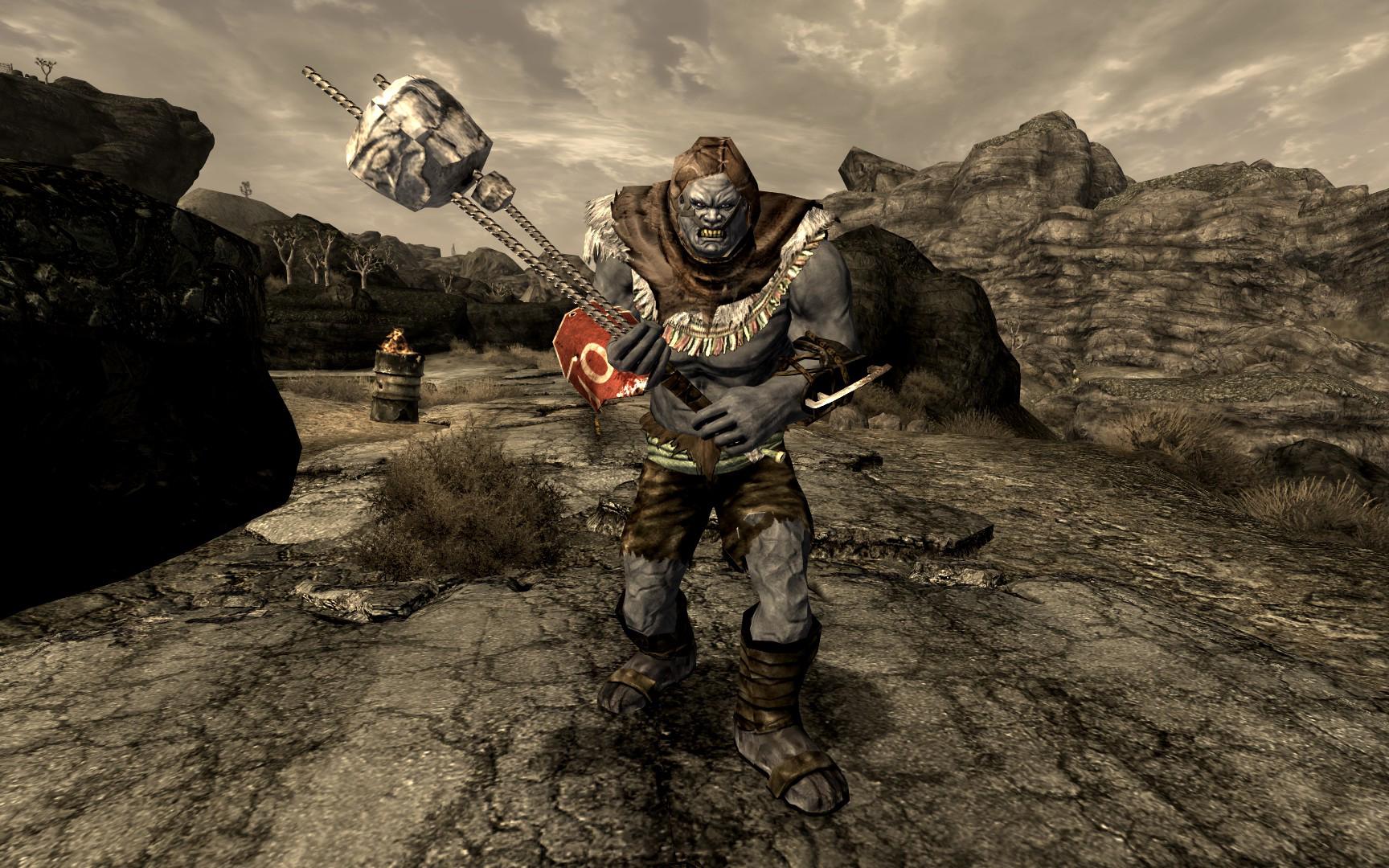 Fallout-new-vegas-super mutant fight