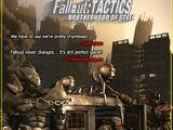Fallout Tactics promotional items