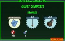 FoS Alls Fair in Love and Nuclear War rewards