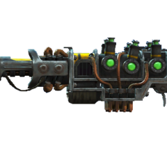 The plasma rifle variant fitted with a sniper barrel