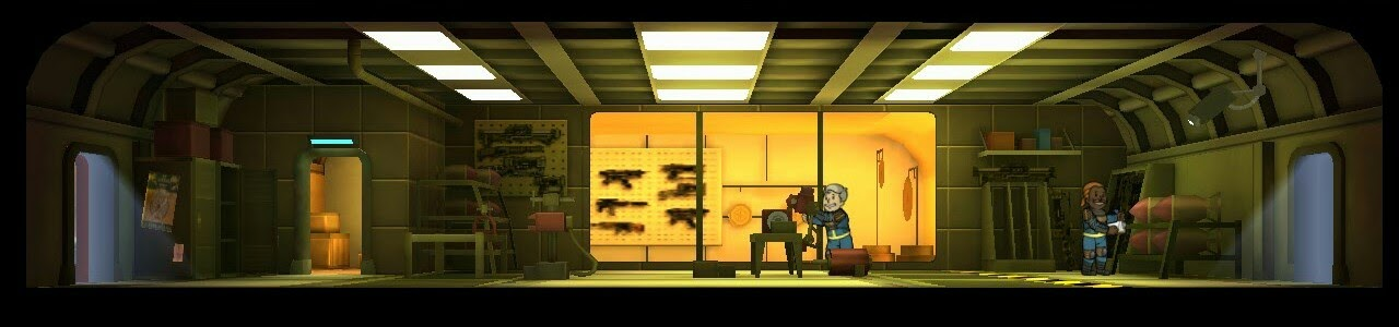 Falloutshelter armory 3room lvl2
