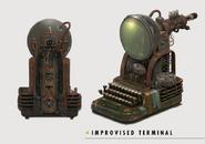 Fo4 Art Improvised Terminal