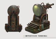 Fo4 Art Improvised Terminal