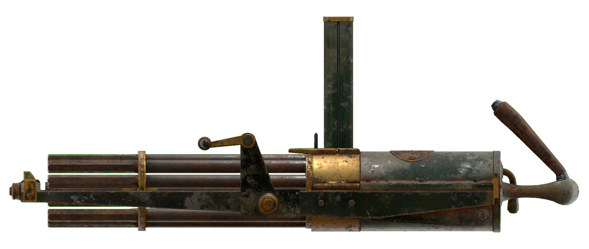 Gatling gun   Fallout Wiki   FANDOM powered by Wikia
