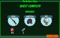 FoS The Brothers Grime rewards