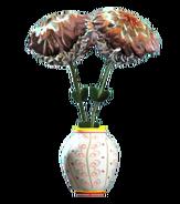 New willow barrel vase