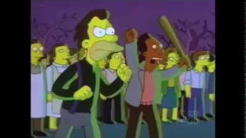 "The simpsons ""aww it's mr"