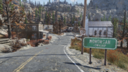 Fo76 South 95 sign