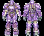 FO4CC T-60 power armor purple