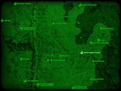 FO4 Музей ведьм Салема (карта мира)