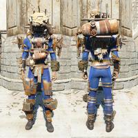FO4 Рейдерская броня тяжёлая