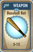 FoS Baseball Bat Card
