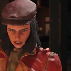 Пайпер в офіційному відеоролику до виходу гри.