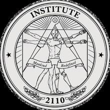 Wczesne logo instytutu