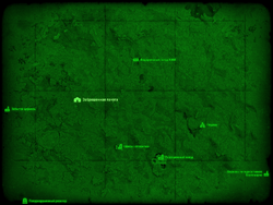 FO4 Заброшенная лачуга (карта мира)