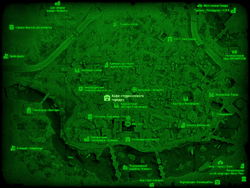 FO4 Кафе студенческого городка (карта мира)
