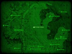 FO4 Коттедж на берегу (карта мира)