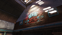 FO76 Bolton Green pool room painting