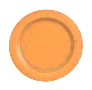 FO76 Plastic plate orange