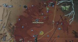 FO76 Ranger lookout wmap
