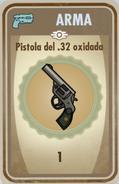 FOS Pistola del 32 oxidada carta