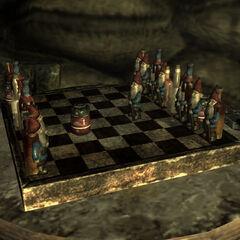 Fallout 3 chess set