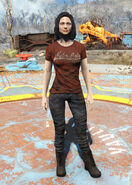 Red Nuka-Cola t-shirt female