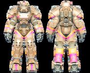FO4CC T-60 power armor Slocum's Joe tan
