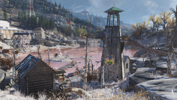 FO76 Pioneer Scout camp