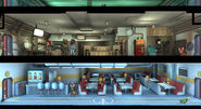 Fallout Shelter 1.8 update Room Themes