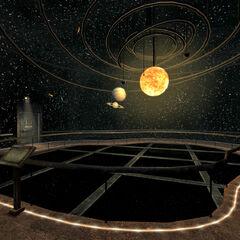 Зал музею №4. Планетарій
